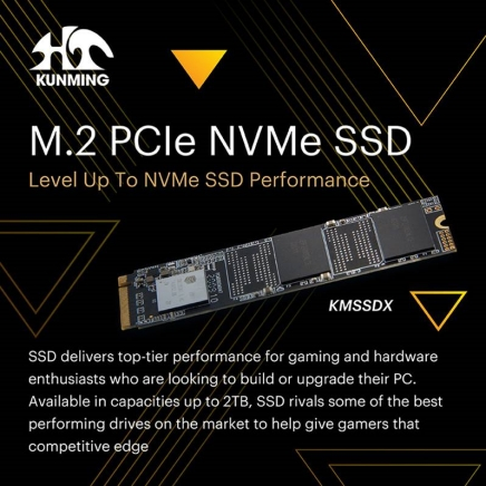 KMSSDX - M.2 PCIe SSD Level Up To NVMe SSD Performance